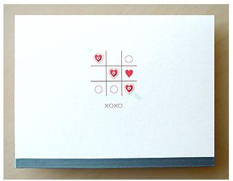 Dear Monday Tic Tac Love Card