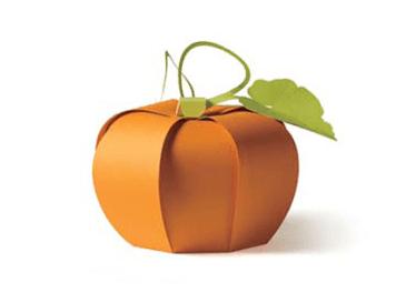 Free Papercraft Halloween Pumpkin Template