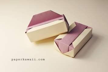 Origami gift boxes paperkawaii