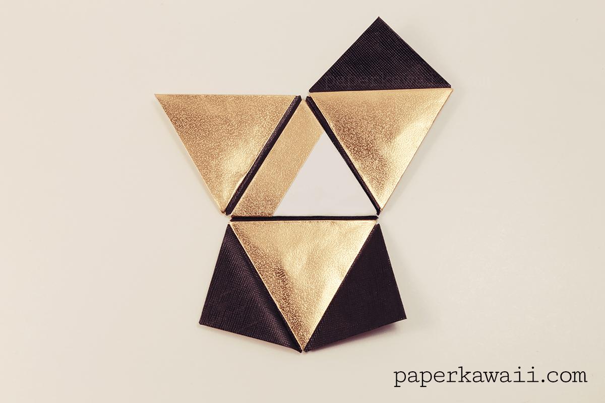 triangle pyramid origami joy studio design gallery