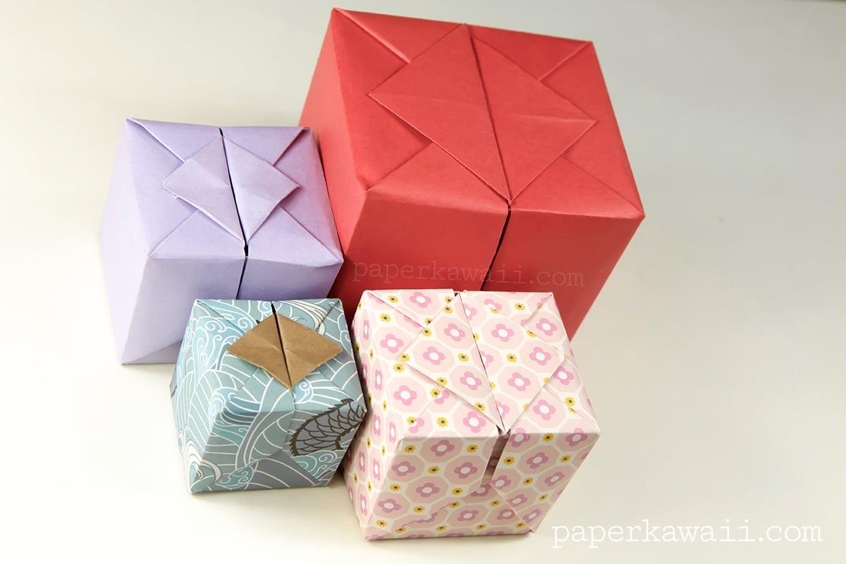 Origami Hinged Box Video Tutorial - Paper Kawaii - photo#12