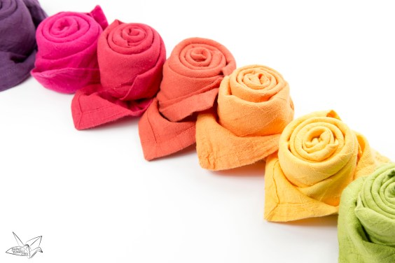How To Fold A Beautiful Origami Napkin Rose