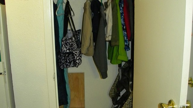 Hall Closet After Tiny
