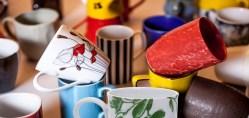 Splendiferous Coffee Mug Collection Paragon Ceramic Industries Limited Coffee Mug Collection Shelf Coffee Mug Collectors Board