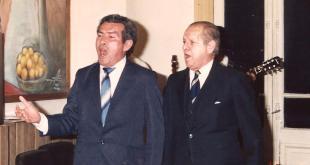 Oscar Mendoza y Cristóbal Pérez Ortiz