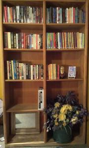 Paranoia book shelf