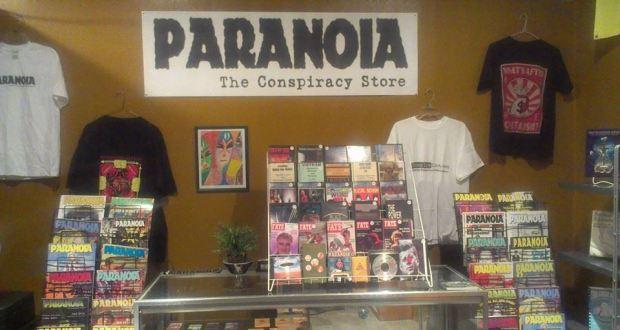 Paranoia inside store