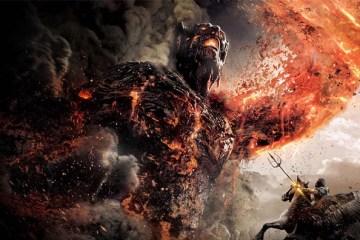 Le Titan Cronos affronte Pégase