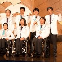 最高の実績と未来への課題。平昌パラリンピック日本代表選手団解団式