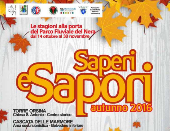 Saperi e sapori autunno 2016
