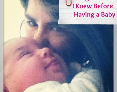 Before having a baby