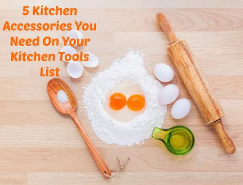 Kitchen Tools List