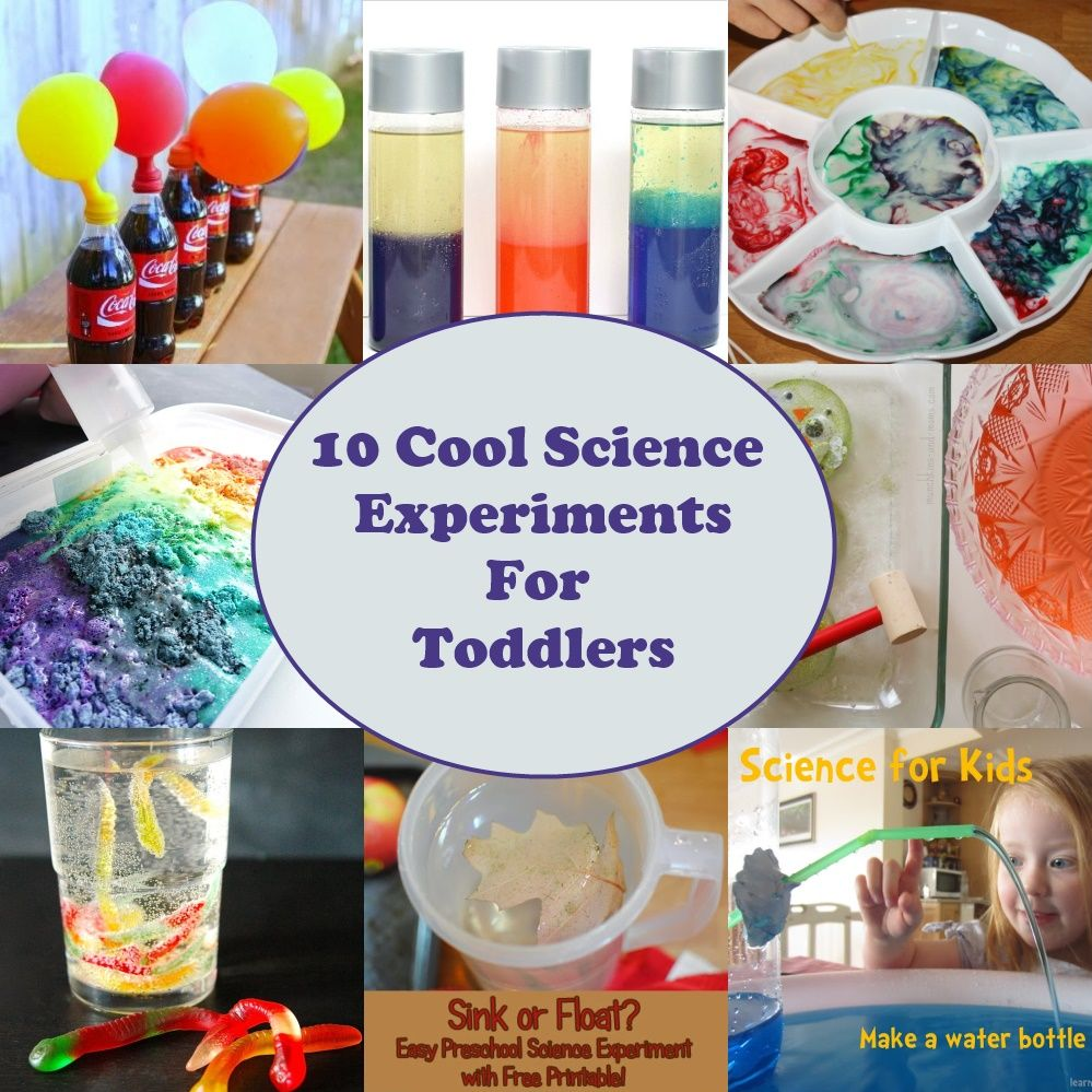 10 Cool Science Experiments For Toddlers
