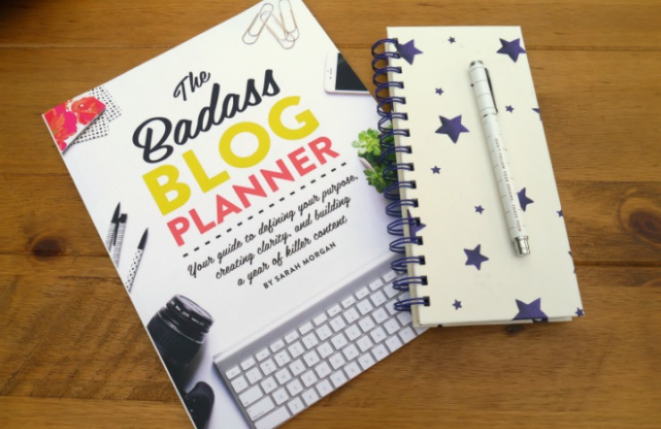 Books for Bloggers: The Badass Blog Planner Giveaway