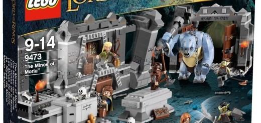 les Mines de la Moria - Lego