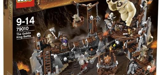 Lego Hobbit - Bataille contre le roi Gobelin
