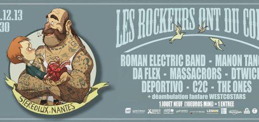 Les rockeurs ont du coeur Nantes 2013