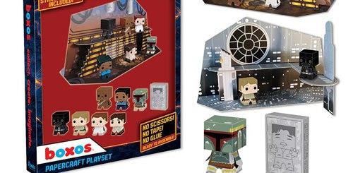 Kit de papercraft Star Wars