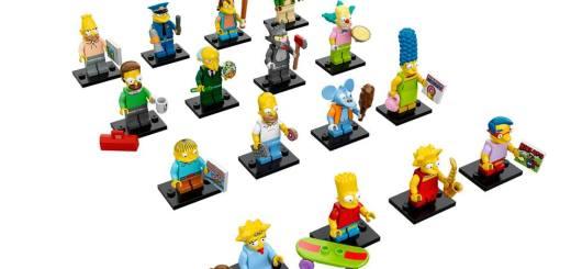 Figurines Lego Simpsons