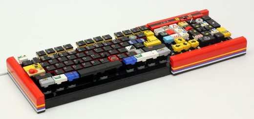 Un vrai clavier en Lego