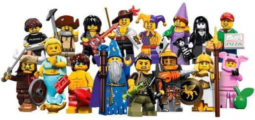 Lego Minifigurines Série 12 (ou 14 ?)