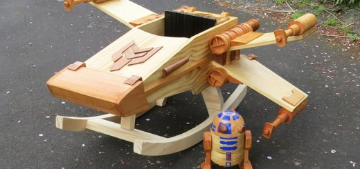 Wood X-Wing