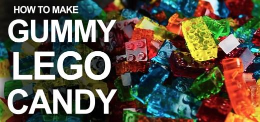 Fabriquez vos propres bonbons Lego