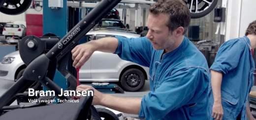 Une poussette sans pilote, par Volkswagen (NB : c'est un fake)