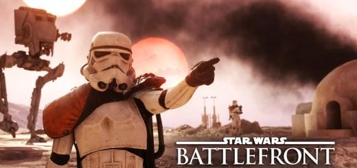 Star Wars Battlefront, bande-annonce de lancement