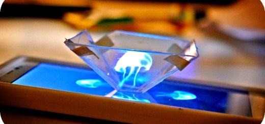 Fabriquer un projecteur holographique avec un smartphone
