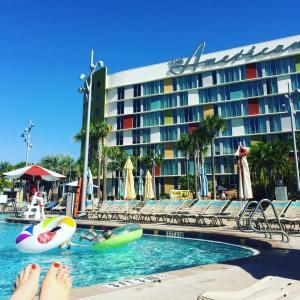 Living the Americana Dream today universalorlando s Cabana Bay Beachhellip