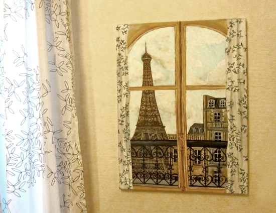 Painting of Eiffel Tower