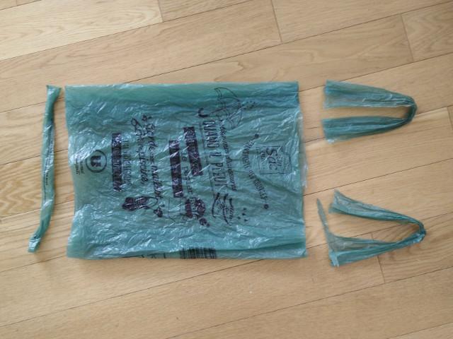 Super Crochet avec des sacs en plastique - Paris en Rose @YY_65