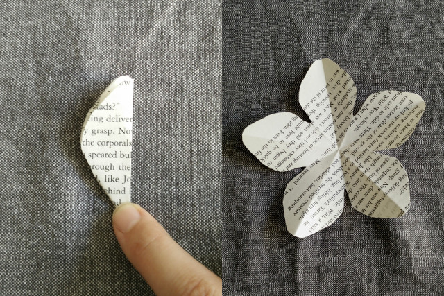 Paper flowers