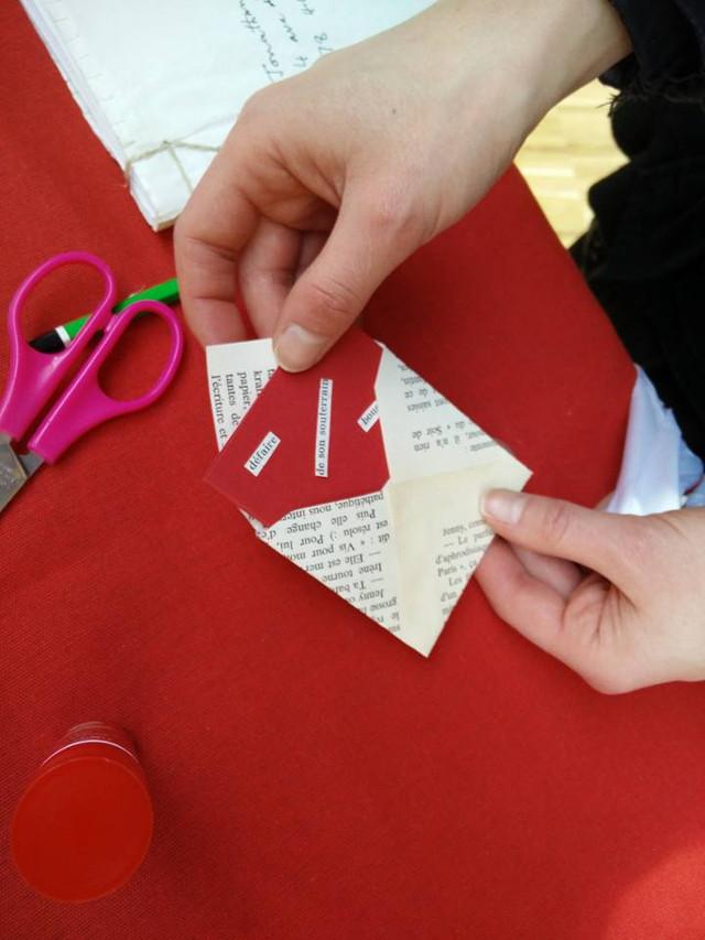 La fabrication des enveloppes en papier