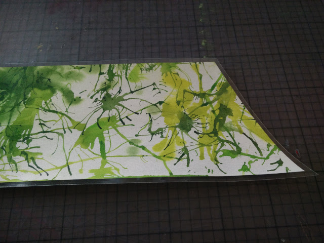 The paper with the styrene film