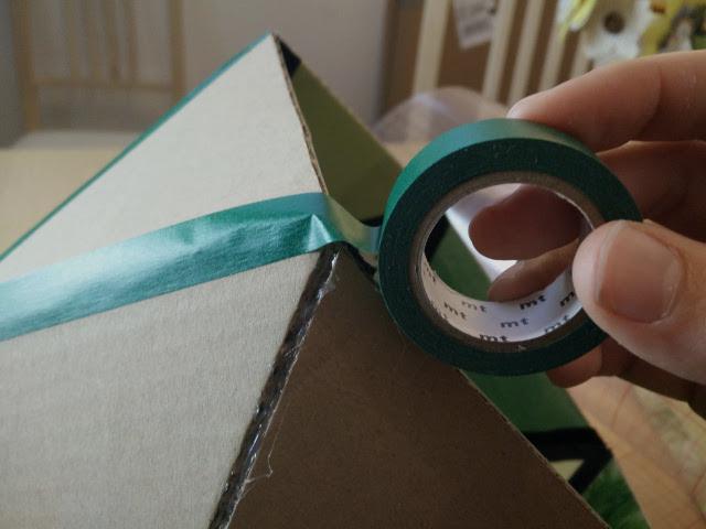 Adding Washi tape