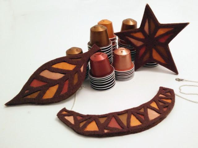 Bijoux cuivre fabriqué avec des capsules nespresso 418e82c47f6
