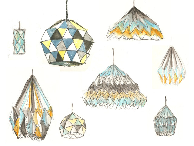 Ideas For Paper Lamp Shade