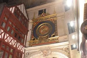 rouen horloge pile