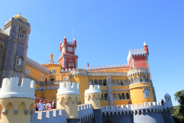 Sintra - Façade du palais des Maures