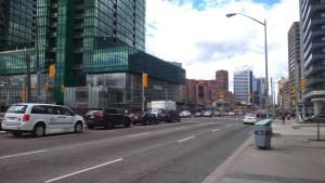 Toronto - centre ville rue