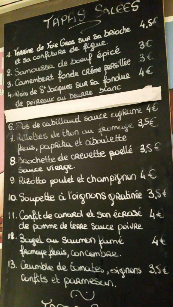 uniq lounge menu tapas sales