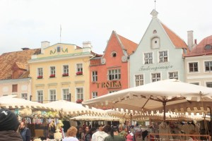 Tallin-Place de lhotel de ville