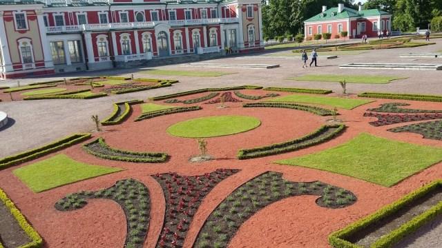 Tallinn-Jardin parc Kadriorg