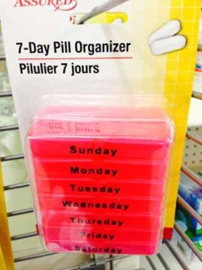 Dollar Store Pillbox