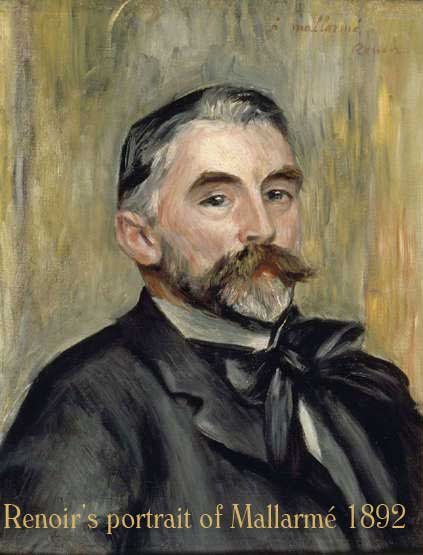 Renoir's painting of Mallarmé