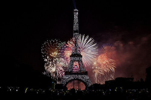 Bastille Day Fun in Paris    Paris Perfect Bastille Day Fireworks