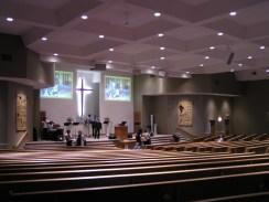 multi-use church auditorium