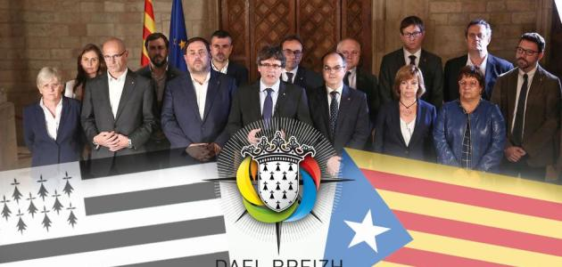Gouvernement Catalan en octobre 2017